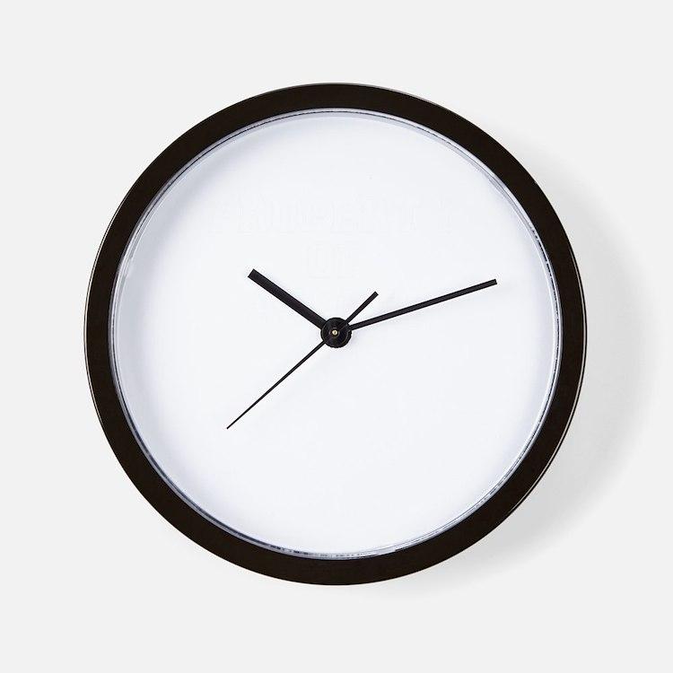Property of ASHLEE Wall Clock