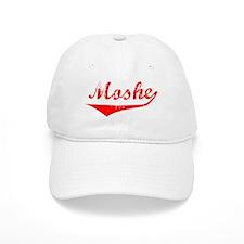 Moshe Vintage (Red) Baseball Cap