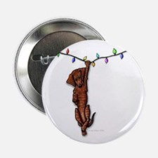 """Dangling Doxie IV 2.25"""" Button"""