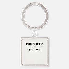 Property of ASHLYN Keychains