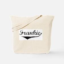 Frankie Vintage (Black) Tote Bag
