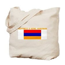 HAPPINESS IS BEING ARMENIAN Tote Bag