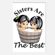 Sisters Are The Best Postcards (Package of 8)