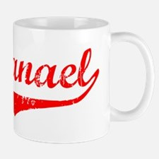 Nathanael Vintage (Red) Mug