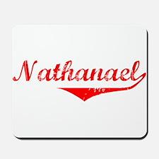 Nathanael Vintage (Red) Mousepad