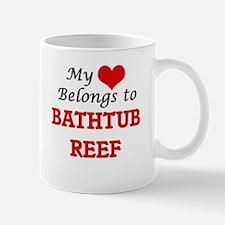 My Heart Belongs to Bathtub Reef Florida Mugs