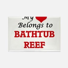 My Heart Belongs to Bathtub Reef Florida Magnets