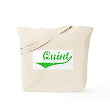 Quint Vintage (Green) Tote Bag