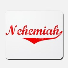 Nehemiah Vintage (Red) Mousepad