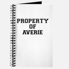 Property of AVERIE Journal