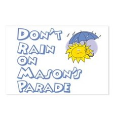 Don't Rain On Mason's Parade Postcards (Package of
