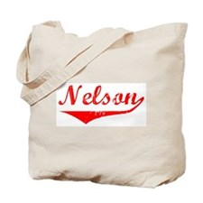 Nelson Vintage (Red) Tote Bag