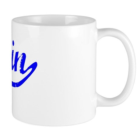 Darin Vintage (Blue) Mug