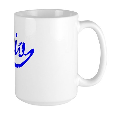 Dario Vintage (Blue) Large Mug