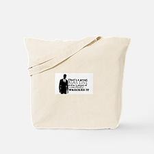 Bias List Tote Bag