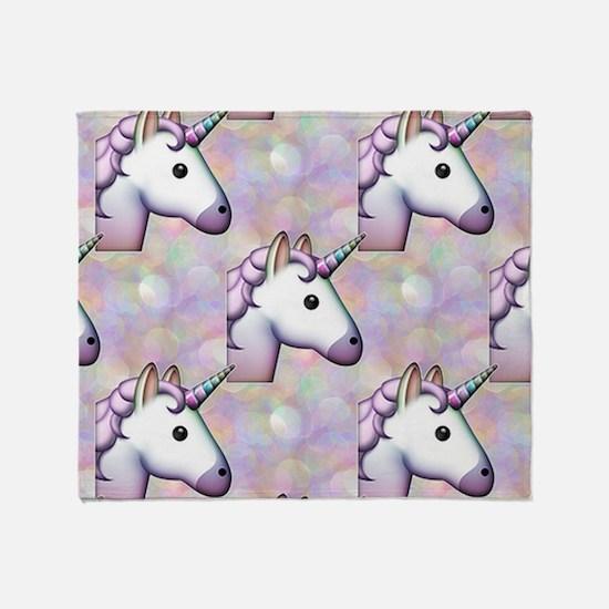 Funny Unicorn Throw Blanket