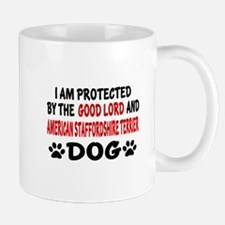 Protected By American Staffordshire Ter Mug