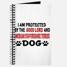 Protected By American Staffordshire Terrie Journal