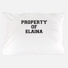 Property of ELAINA Pillow Case