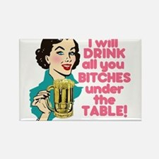 Funny Beer Drinking Humor Magnets