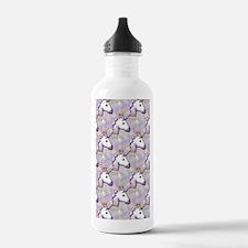 hologram unicorn emoji Water Bottle