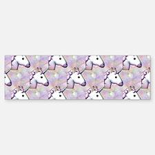 hologram unicorn emoji Bumper Bumper Bumper Sticker