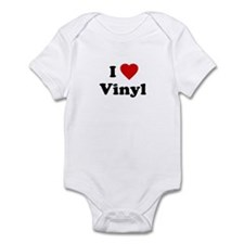 I Love Vinyl Infant Creeper