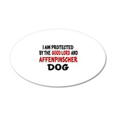 Protected By Affenpinscher D Wall Decal