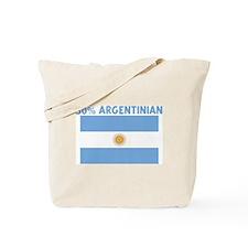 50 PERCENT ARGENTINIAN Tote Bag