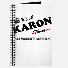KARON thing, you wouldn't understand Journal