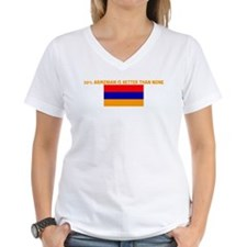 50 PERCENT ARMENIAN IS BETTER Shirt