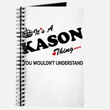 KASON thing, you wouldn't understand Journal