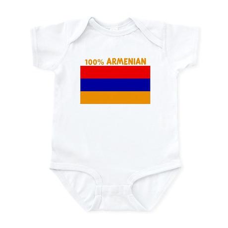 100 PERCENT ARMENIAN Infant Bodysuit