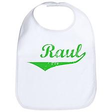 Raul Vintage (Green) Bib