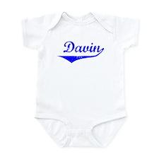 Davin Vintage (Blue) Onesie