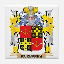 Fairbanks Coat of Arms - Family Crest Tile Coaster