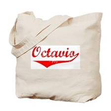 Octavio Vintage (Red) Tote Bag