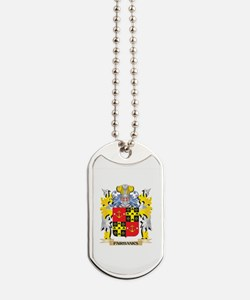 Fairbanks Coat of Arms - Family Crest Dog Tags