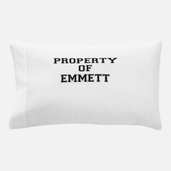 Property of EMMETT Pillow Case