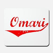 Omari Vintage (Red) Mousepad
