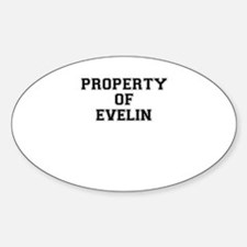 Property of EVELIN Decal