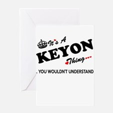 KEYON thing, you wouldn't understan Greeting Cards