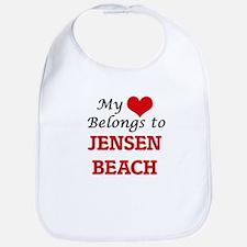 My Heart Belongs to Jensen Beach Florida Bib