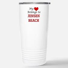 My Heart Belongs to Jen Travel Mug