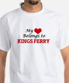 My Heart Belongs to Kings Ferry Georgia T-Shirt