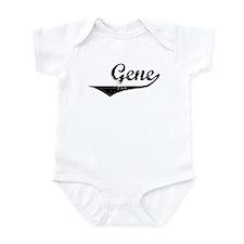 Gene Vintage (Black) Infant Bodysuit