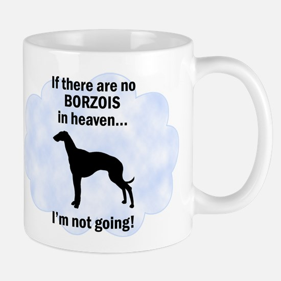 Borzois In Heaven Mug