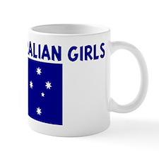 I LOVE AUSTRALIAN GIRLS Mug