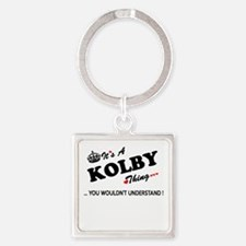 KOLBY thing, you wouldn't understand Keychains
