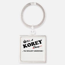 KOREY thing, you wouldn't understand Keychains